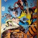 Wolverine Vs Sabretooth Marvel Comics Poster by Andy Adam Kubert