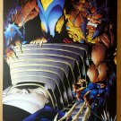 Wolverine Bone Claws Marvel Comics Poster