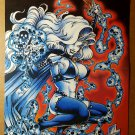 Lady Death Chaos Comics Poster by Steven Hughes