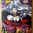 Lady Death Chastity Purgatory Chaos Comics Poster of Evil Ernie