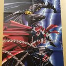 Batman Spawn DC Comics Image Poster by Frank Miller