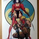 Shi and Grifter Crusade Comic Poster by Jim Lee