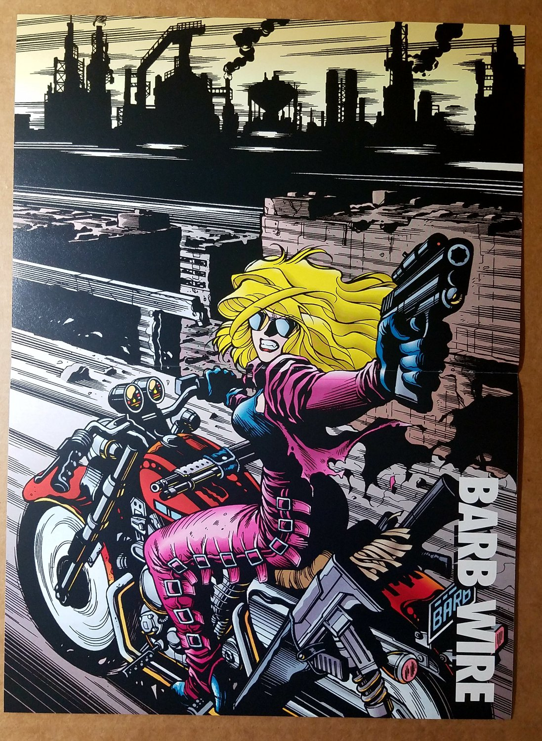 Barb Wire Comic Poster