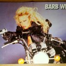 Barb Wire Pamela Anderson Motorcycle Photo Poster