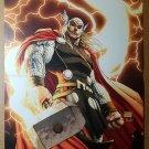 Avengers Thor Hammer 1 Marvel Comics Poster by Michael Turner