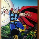 Avengers Thor Loki Marvel Cartoon Comics Poster by Walter Simonson
