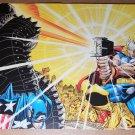 Thor Captain America Hawkeye Avengers Midgard Marvel Comics Poster by John Romita Jr