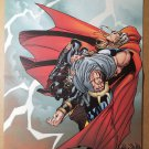 Thor Across all Worlds Gladiator Marvel Comic Poster by Andy Kubert