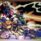 Thor fighting Guns Rocket Launcher Marvel Comic Poster by Walter Simonson