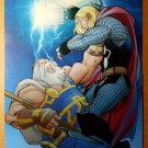 Thor Marvel Comics Poster by Pasqual Ferry