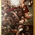 Thor Reign of Blood Marvel Comics Poster by Marko Djurdjevic