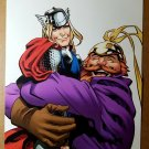Thor Warrior Three Volstagg Marvel Comics Poster by Chris Samnee