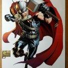 Avengers Thor Son as Asgard Marvel Comic Poster by Joe Quesada
