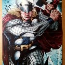 Thor Avengers Marvel Comics Poster by Patrick Zircher