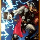 Thor Avengers Thunder and Lightning Marvel Comics Poster by Ed McGuinness