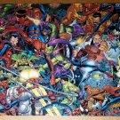Spider-Man Venom Green Goblin Carnage Villains Marvel Poster by John Romita Jr