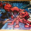 Amazing Spider-Man Marvel Comic Poster by Angel Medina
