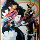 Venom Power Pack Spiderman Marvel Comics Poster by Gurihiru