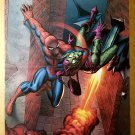 Spider-Man Vs Green Goblin Marvel Comics Poster by John Romita Sr