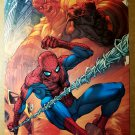 Spider-Man Vs Sandman Marvel Comics Poster by Mark Brooks