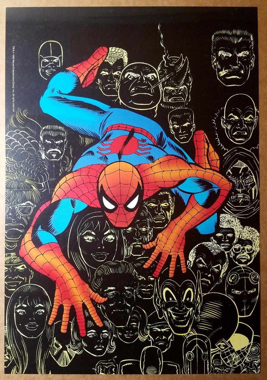 Spider-Man Marvel Comics Poster by Mark Bagley