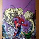 Spider-Man Silver Sable Sandman Marvel Comics Poster by Todd McFarlane