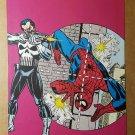 Amazing Spider-Man The Punisher Marvel Comic Mini Poster by Gil Kane John Romita