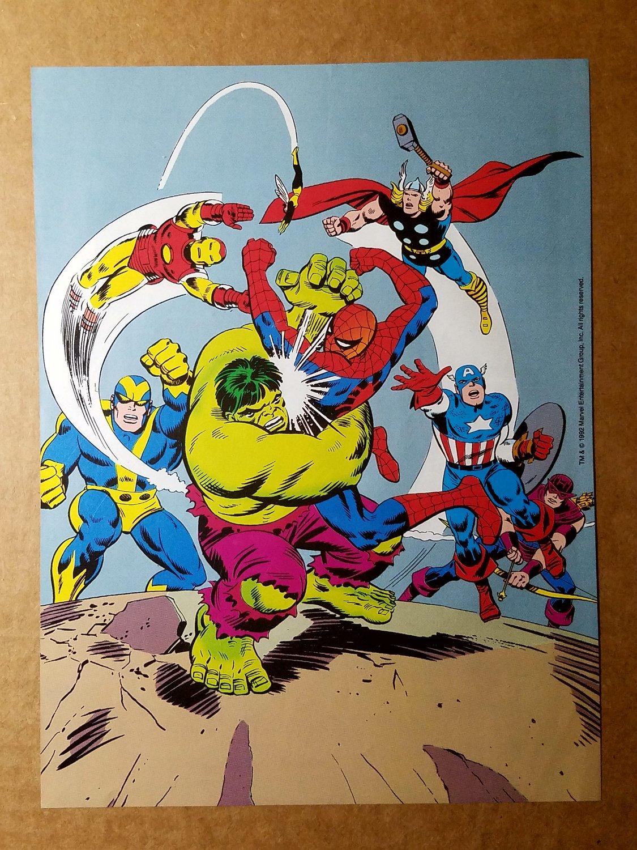 Avengers Spider-Man Marvel Comics Mini Poster by John Romita