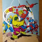 Avengers Spider-Man Marvel Comics Mini Poster by John Romita