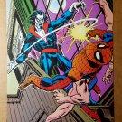 Six Arms Spider-Man Vs Morbius Marvel Comics Mini Poster by Gil Cane John Romita