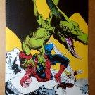 Spider-Man Angel Dinosaur Spider-Man Marvel Comics Mini Poster by Michael Golden