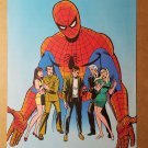 Spider-Man Mary Jane Gwen Stacy Friends Marvel Comics Mini Poster by John Romita