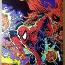 Spider-Man Vs Hobgoblin Marvel Comics Poster by Todd McFarlane