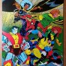 X-Men Wolverine Phoenix Colossus Spider-Man Marvel Poster by Todd McFarlane
