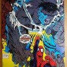 Amazing Spider-Man Vs Gray Hulk Marvel Comics Poster by Todd McFarlane