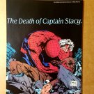 Death of Captain Stacy Spider-Man Marvel Comics Mini Poster by Todd McFarlane
