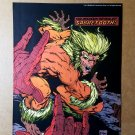Spider-Man Vs Sabretooth Marvel Comics Mini Poster by Todd McFarlane