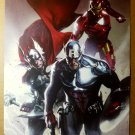 Avengers Thor Captain America Iron Man Marvel Comic Poster by Gabriele Dell'Otto