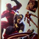 Avengers Captain America Iron Man Ant Man Thor Marvel Poster by Marko Djurdjevic