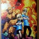 Fantastic Four Kids Marvel Comics Poster by Alan Davis