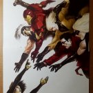 Mighty Avengers Maria Hill Marvel Comics Poster by Marko Djurdjevic