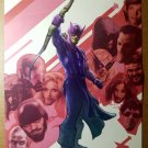 New Avengers Hawkeye Marvel Comics Poster by Aleksi Briclot