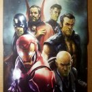 New Avengers Marvel Comics Poster by Aleksi Briclot