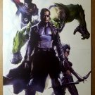 Nick Fury Skaar Avengers Marvel Comics Poster by Gabriele Dell'Otto