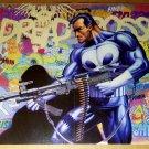 Punisher Graffiti Marvel Comics Poster by Mike Zeck