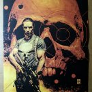 The Punisher Frank Castle Marvel Comic Poster by Tim Bradstreet