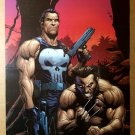 X-Men Wolverine The Punisher Marvel Comics Poster by Gary Frank