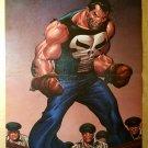 Punisher War Zone Boxing Marvel Comics Poster by John Buscema