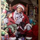 Punisher as Santa Claus Marvel Comics Poster by Mike Deodato Jr