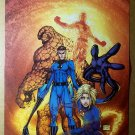 Fantastic Four Marvel Comics Poster by Michael Turner